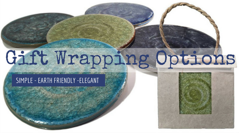 eco gift wrapping banner