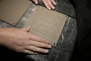 Handmade Clay Tile