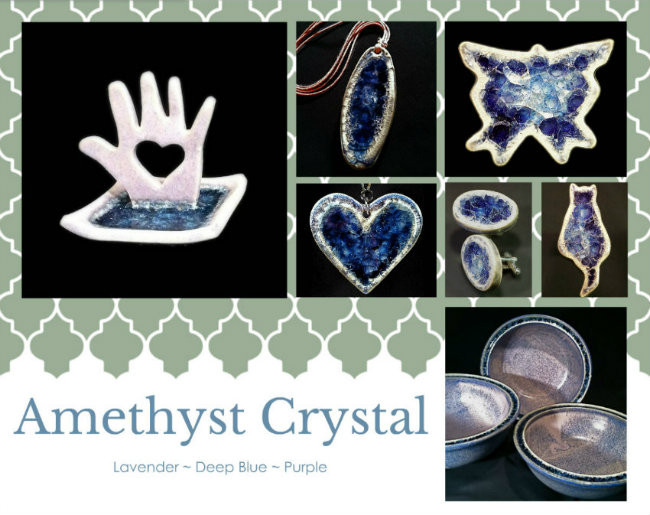 amethyst purple glass products